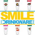Smile Drinkware 125×125 Button